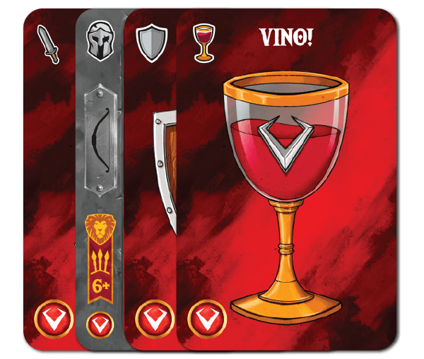 Throne card layout