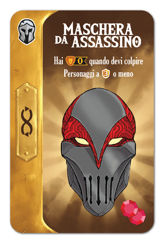 MASCHERA DA ASSASSINO
