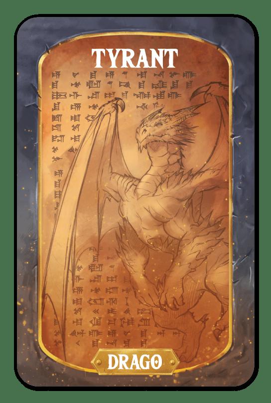 Retro Tyrant - Drago